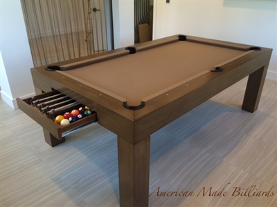 Modern Pool Tables Almond Drawer